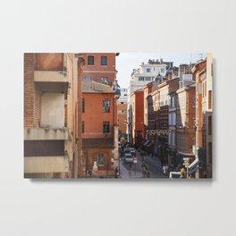Toulouse street life Metal Print
