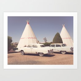 Sleep at the Wigwam Art Print