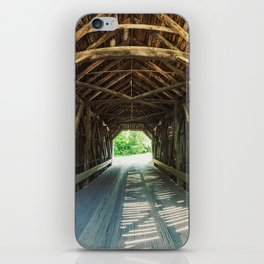 Covered Bridge iPhone Skin