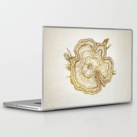 tree rings Laptop & iPad Skins featuring Tree Rings by Emmy Winstead