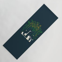 Re-paint the Forest Yoga Mat