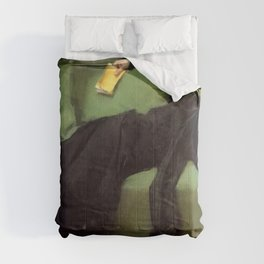 A Decadent Girl - Ramon Casas Comforters
