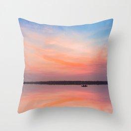 Buff Point Jetty NSW Throw Pillow