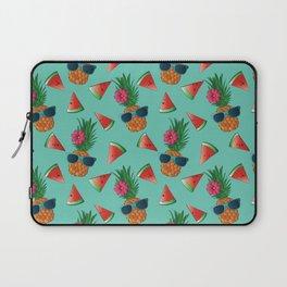 Lady Pineapple Laptop Sleeve
