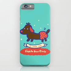 Little baby dog iPhone 6s Slim Case