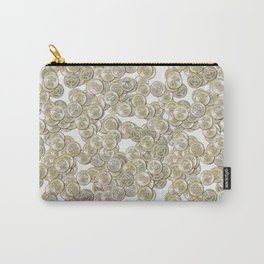 Old British Pound Coins Repeating Pattern Carry-All Pouch