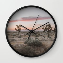 Joshua Tree XVI / California Desert Wall Clock