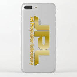 Jet Proulsion Laboratory:  50th Anniversary Logo Clear iPhone Case