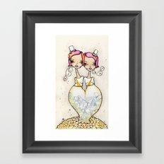 Symmetrical Framed Art Print