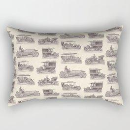 Antique German Automobiles Rectangular Pillow