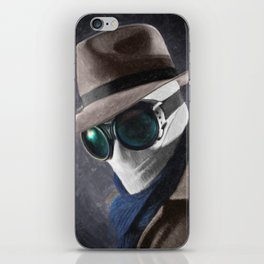 The Invisible Man iPhone Skin