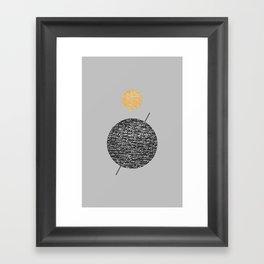 Saturn Abstract #society6 #decor #buyart Framed Art Print