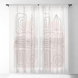 My Way Sheer Curtain