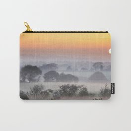 Dusk falls upon the Irish countryside in November Carry-All Pouch