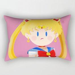 Little Warriors: Sailor Moon Rectangular Pillow