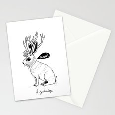 Le Jackalope Stationery Cards