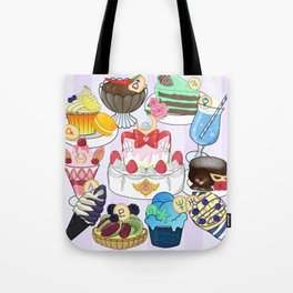 Sailor Senshi Sweets Tote Bag