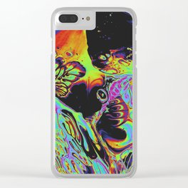 THE WALKER Clear iPhone Case