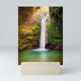 Golden Fall Mini Art Print