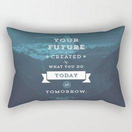 Your future starts today Rectangular Pillow