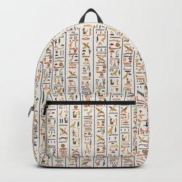 hieroglyphs pattern Backpack