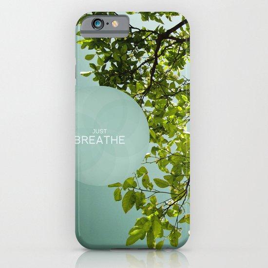 Just Breathe iPhone & iPod Case