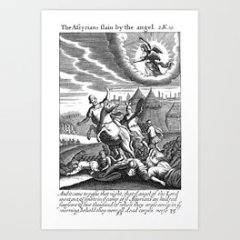 Angel to the Rescue Art Print