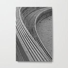 Crossing curves Metal Print