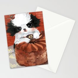 Japanese Chin Waiter Stationery Cards