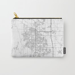 Minimal City Maps - Map Of Fort Collins, Colorado, United States Carry-All Pouch