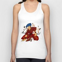 rogue Tank Tops featuring Rogue by soulseraph