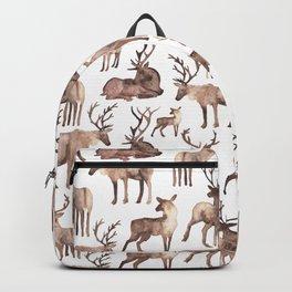 Christmas Reindeer.  Backpack