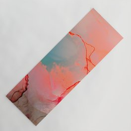 BETTER TOGETHER - LIVING CORAL by MS Yoga Mat