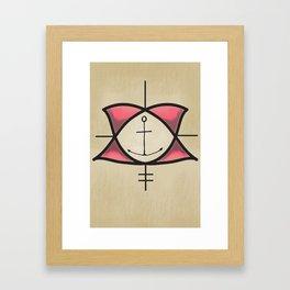 oise Framed Art Print