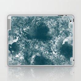 Teal Abstract Laptop & iPad Skin