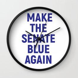 Make the Senate Blue Again Wall Clock