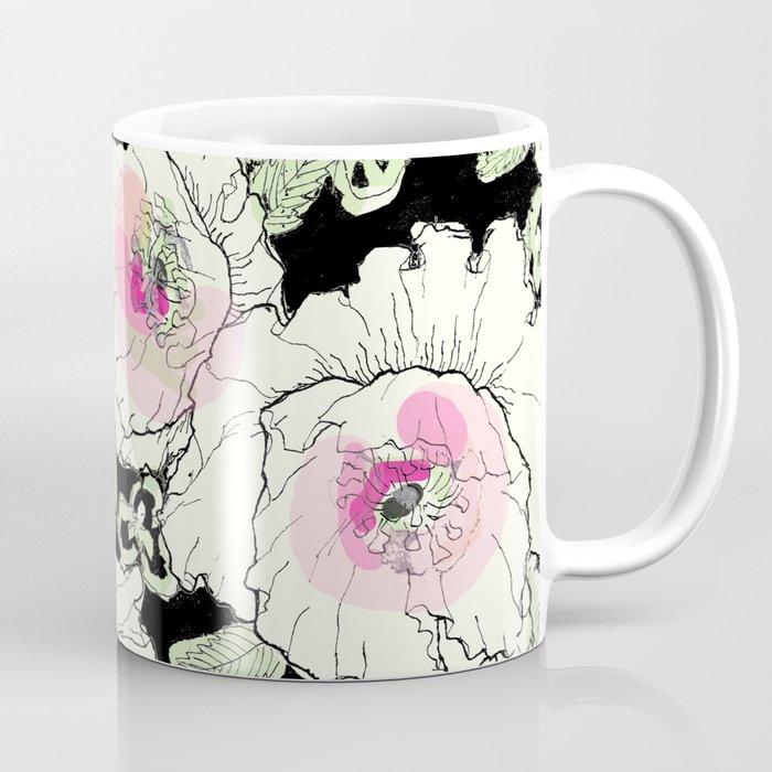 poppies creme Coffee Mug by ariadne  6c55b7c02