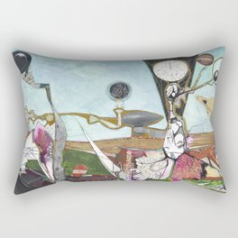 Exploration: Space Age Rectangular Pillow