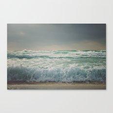 the sea - wave Canvas Print