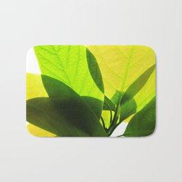 Avocado Leaves Bath Mat