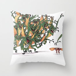 GIZMO CACA Throw Pillow