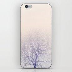 Pastel tree iPhone Skin