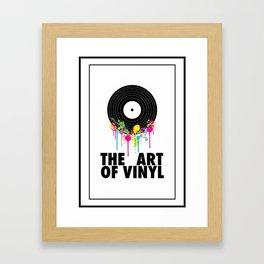 The Art of Vinyl Framed Art Print