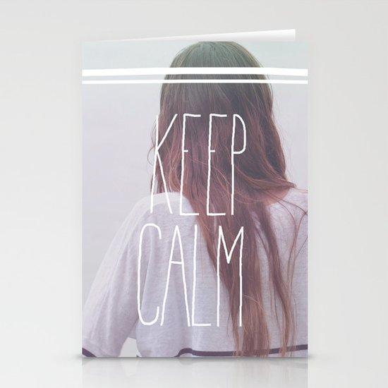 Wander (Keep Calm) Stationery Cards