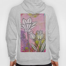 Pod and Daffodil Garden Hoody
