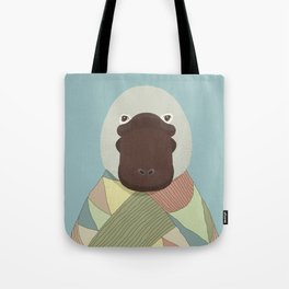 Whimsical Platypus Tote Bag