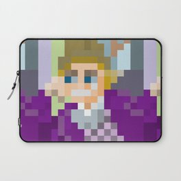 Gene Wilder Pixel Art Laptop Sleeve