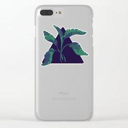 Palmas de Turquesa (Turquoise Palms) Clear iPhone Case