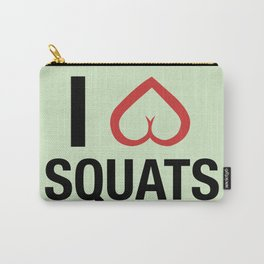 Squat Love Carry-All Pouch