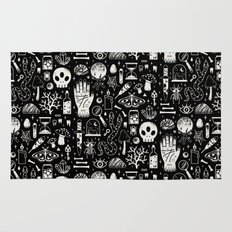 Curiosities: Bone Black Rug